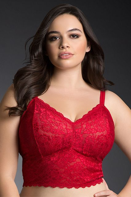adab7991093 Bralettes Do Exist For Plus-Size & Busty Women in 2019 | TO BE HANDLED |  Lace bralette, Lace bandeau, Lace