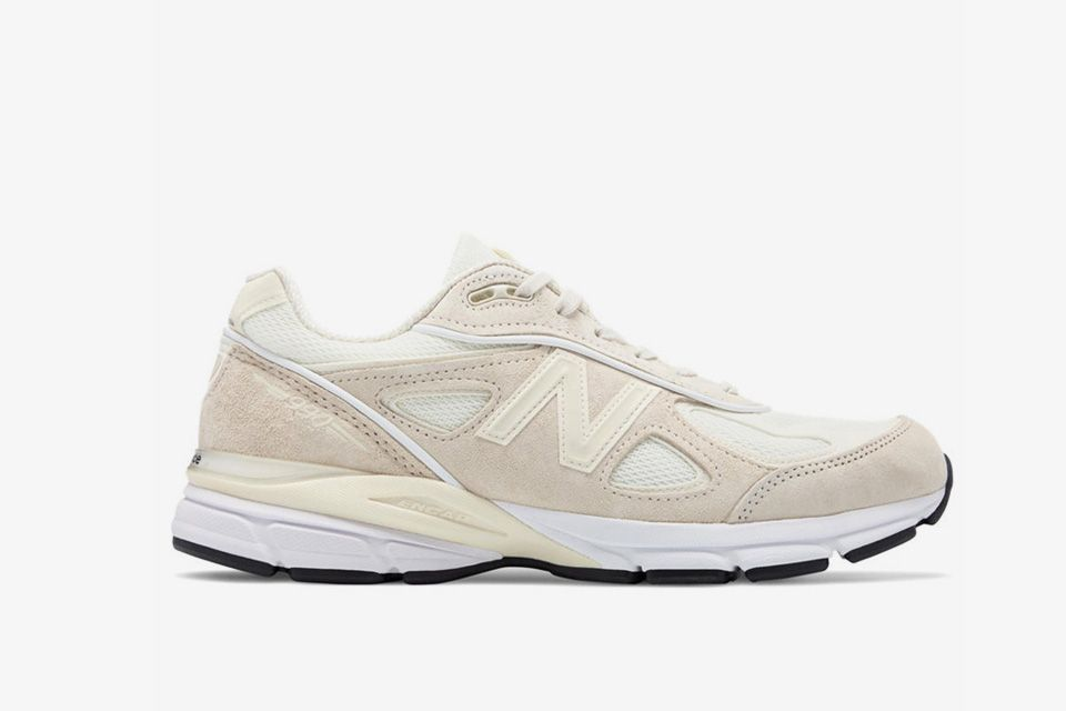 The Stüssy x New Balance 990V4 Drops in a Cream Colorway | New ...
