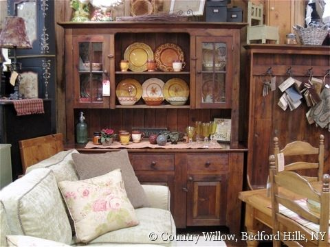 Country style dining hutch- Country Willow Furniture