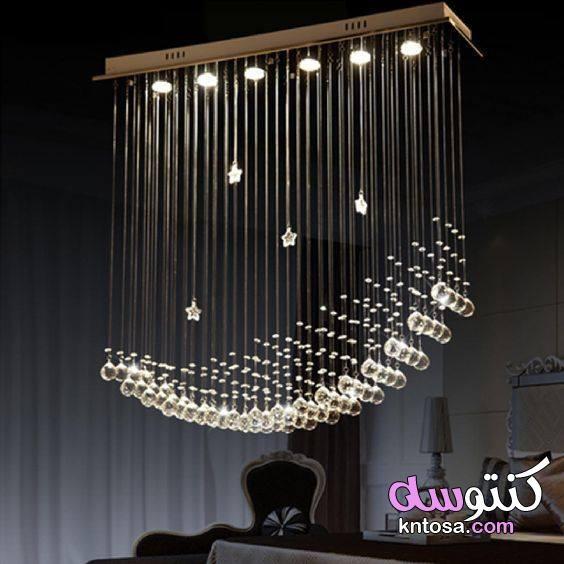 بالصور أحدث أشكال النجف أرقي أشكال نجف الكريستال الأنتيك والمودرن نجف من الكريستال نجف مود Crystal Chandelier Lighting Modern Chandelier Pendant Ceiling Lamp
