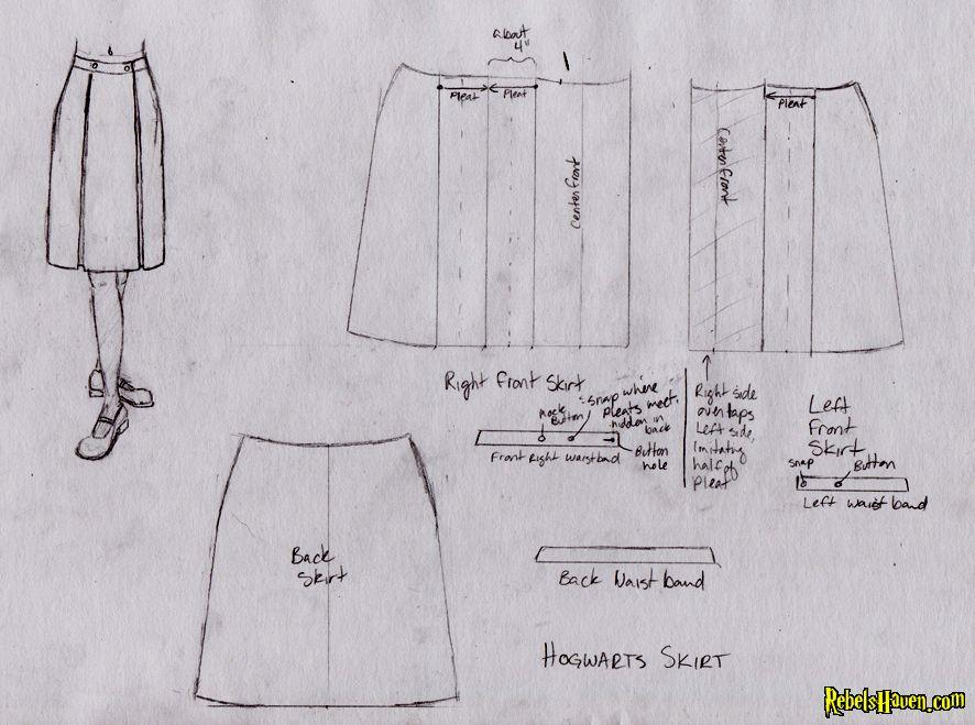 Hogwarts uniform skirt | Cute! | Pinterest | Hogwarts uniform ...