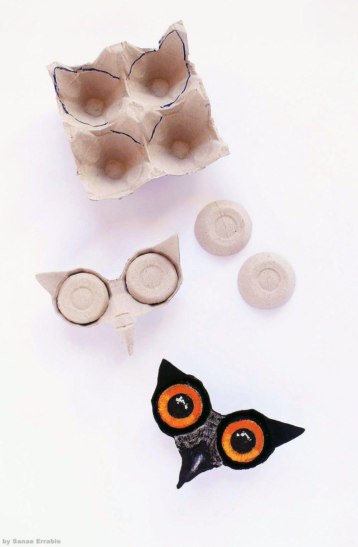 #eggcartoncraft #diy #doityourself #aesthetic #crafts # ...