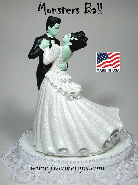Frankenstein Halloween Wedding Cake topper 48MB on Etsy, $49.95 - Frankenstein Halloween Wedding Cake Topper 48MB On Etsy, $49.95