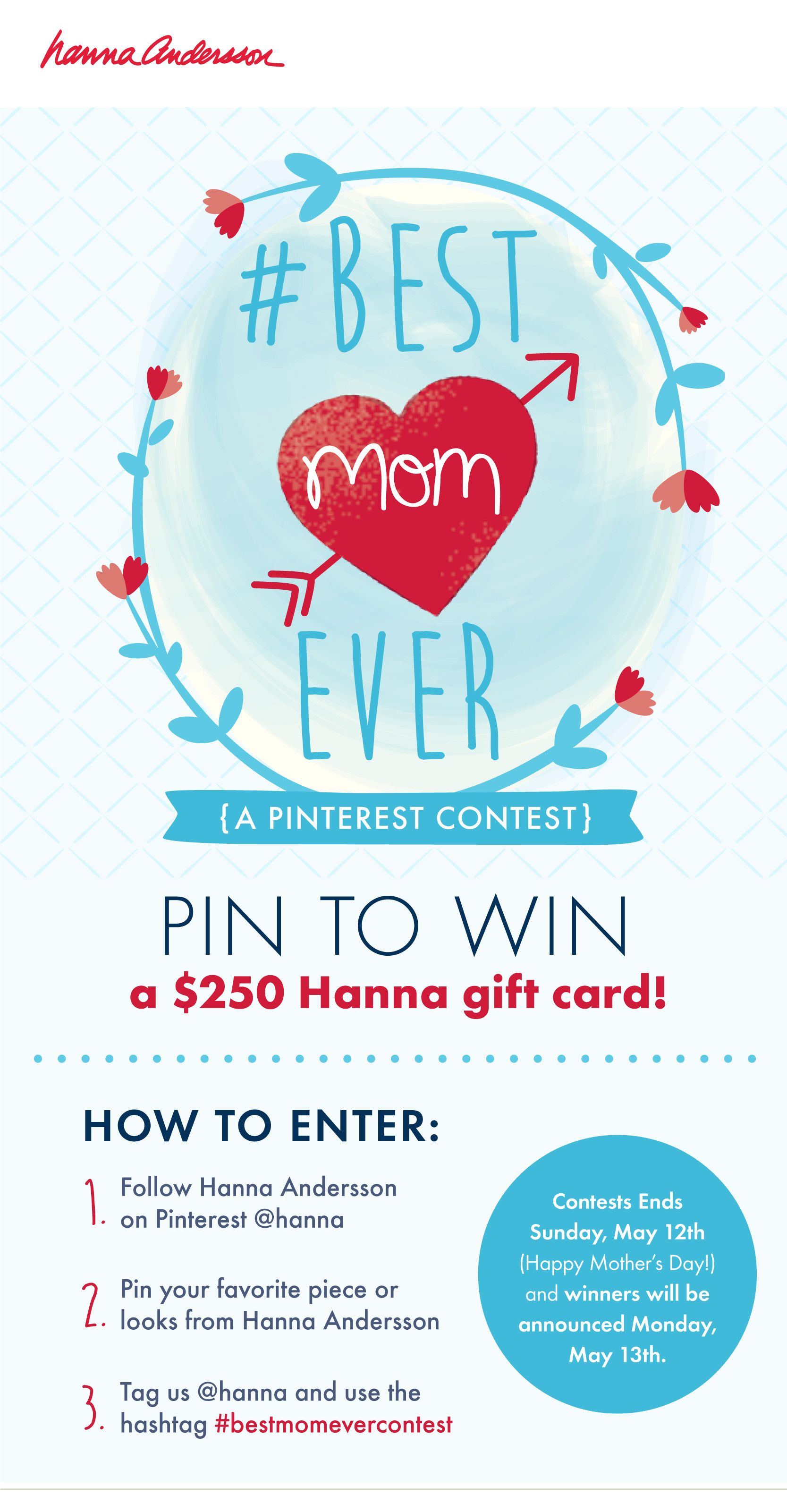 Photo of #BESTMOMEVER Contest. Follow us first! Then pin anything from Hanna and tag us H…