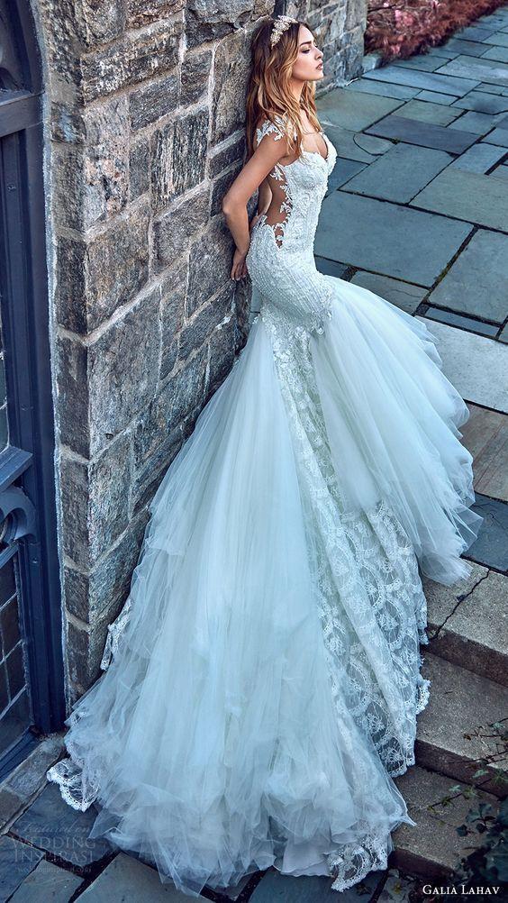 Vestidos de novia otono 2019