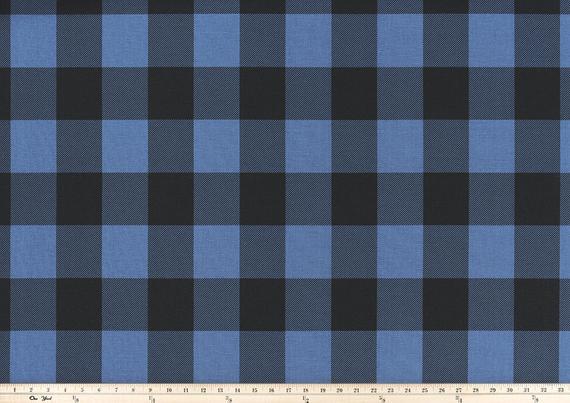 Blue Plaid Tablecloth Black Buffalo Check Table Cloth Cover