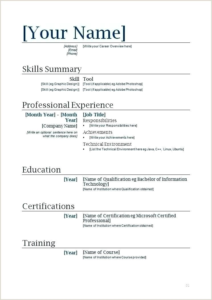 Resume Format Examples For Job Pdf Resume Format Download Free Resume Format Professional Resume Samples