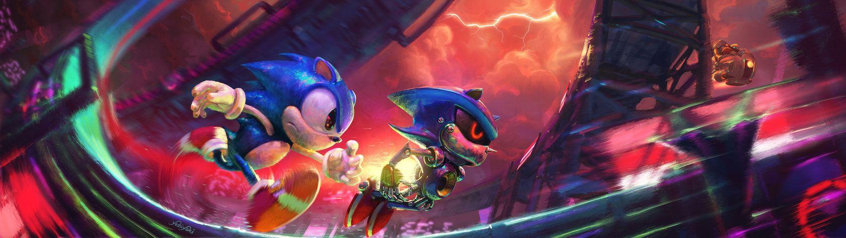 Pin On Metal Sonic 7u7