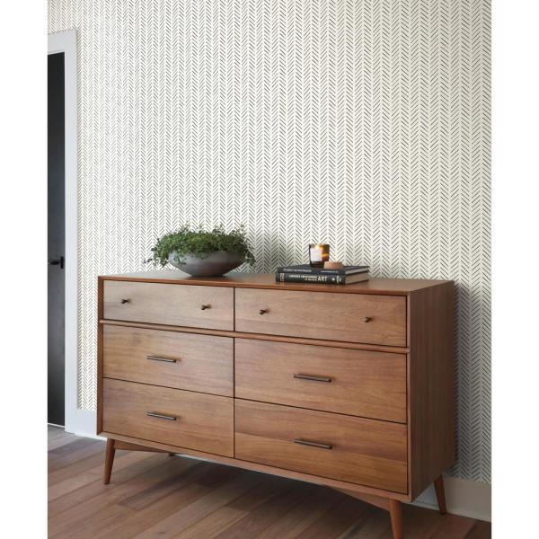 Magnolia Home By Joanna Gaines 34 Sq Ft Magnolia Home Pick Up Sticks Peel And Stick Wallpaper Psw1020rl Magnolia Homes Peel And Stick Wallpaper Home Wallpaper