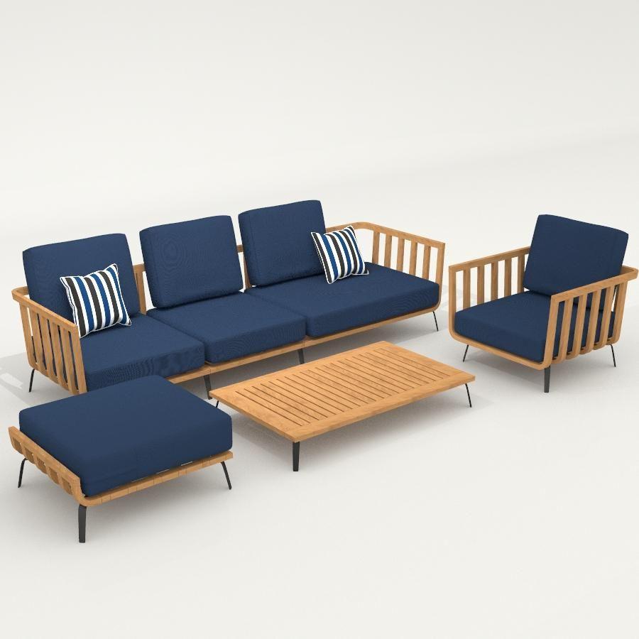 3D Models Outdoor Outdoor Furniture Unopiu Welcome Furniture