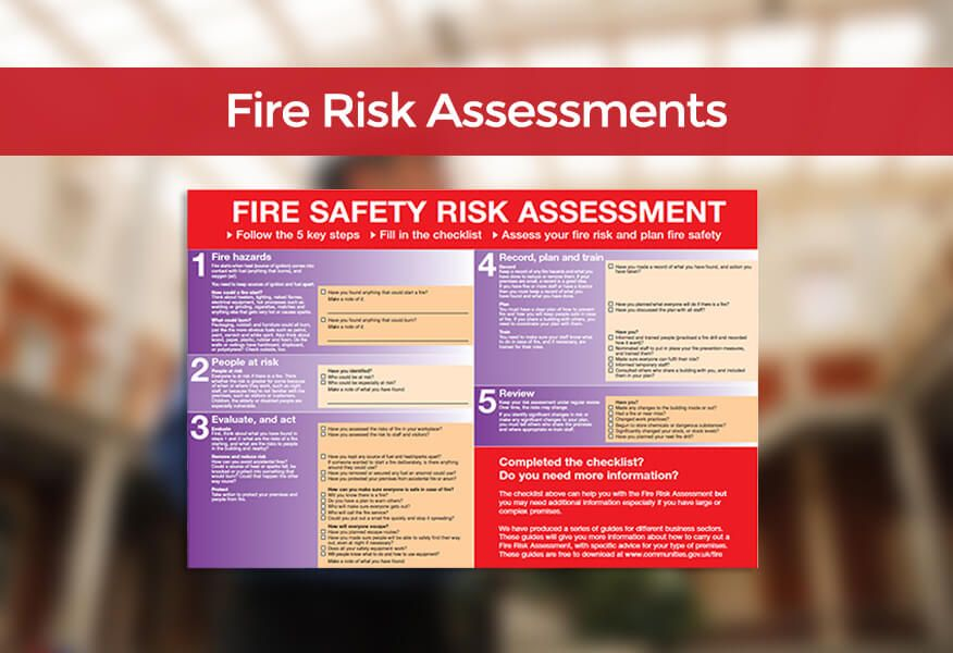 Guide To Fire Risk Assessments For Warrington Businesses Fire