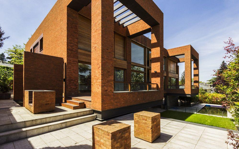 Una joya arquitect nica en mirasierra madrid casa de cuatro plantas presidi 9 arq ext - Casas en mirasierra madrid ...