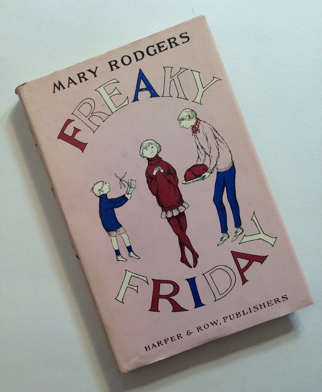 Vintage Book - Freaky Friday by Mary Rodger - First Edition by SuburbanVintage on Etsy https://www.etsy.com/listing/398324009/vintage-book-freaky-friday-by-mary
