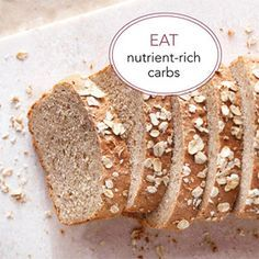 Eat Carbs in Moderation