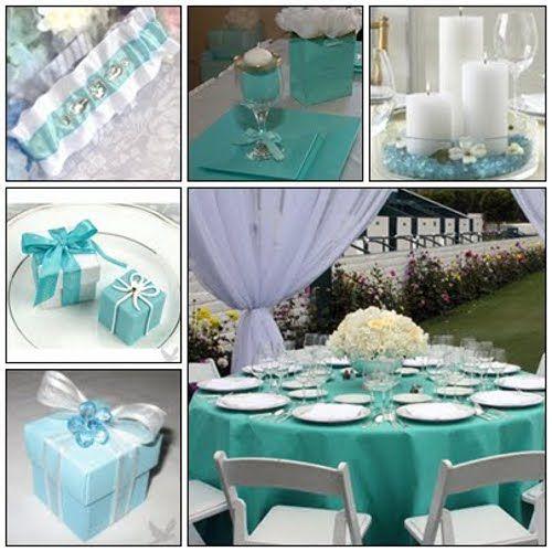 863e34dd4e88f Azul Tiffany para a decoração de casamento