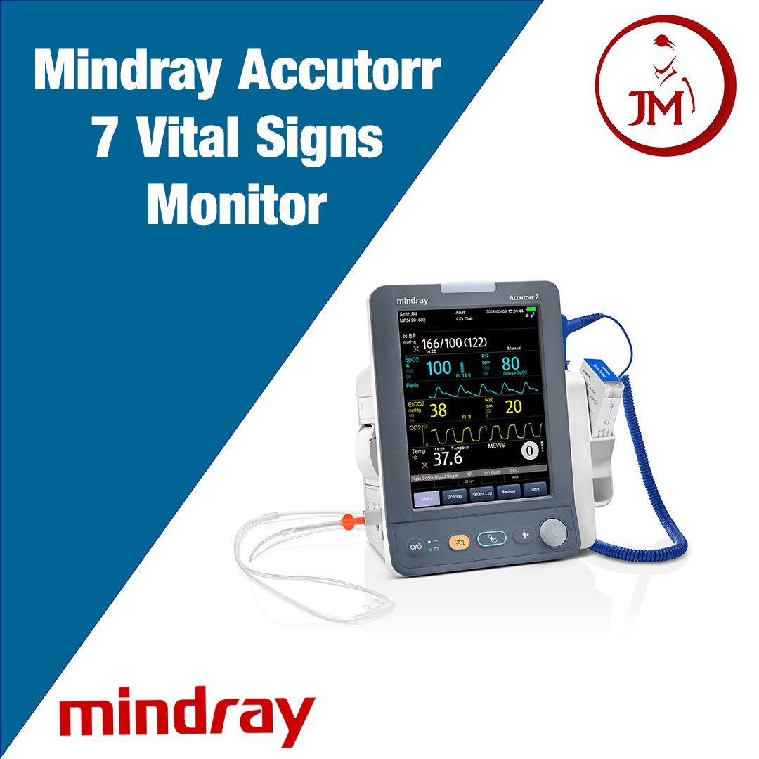 Mindray Accutorr 7 Vital Signs Monitor Vital Signs Monitors Vital Signs Monitor