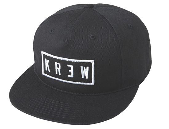 f3d848b9e22de Locker Patch Black Snapback Cap by KR3W