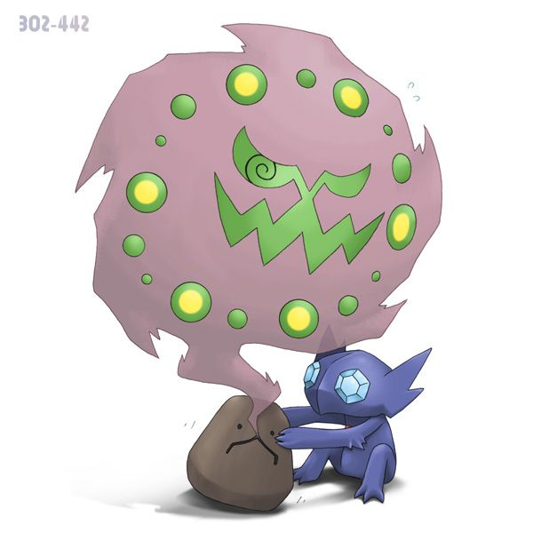 Image result for Sableye Spiritomb
