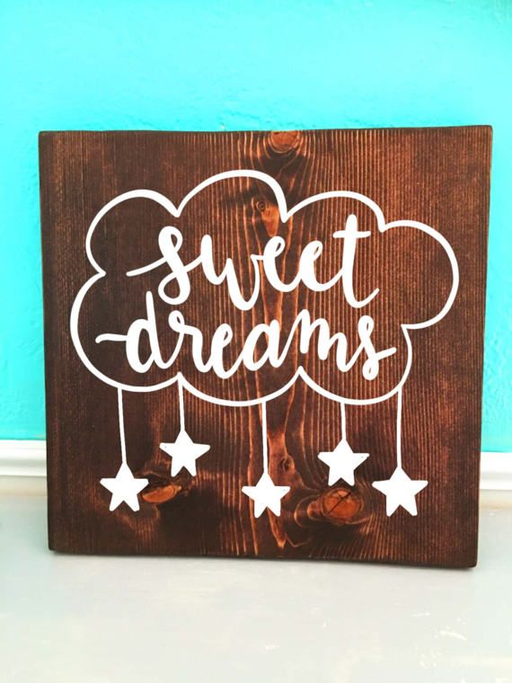 Sweet Dreams Wooden Sign Migrant Resource Network