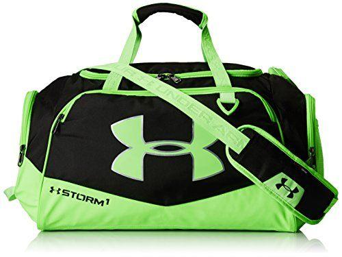 Under Armour Undeniable Ii Duffel Bag Black Hyper Green Small Sports Outdoors Bags Sport Bag Gym Bag