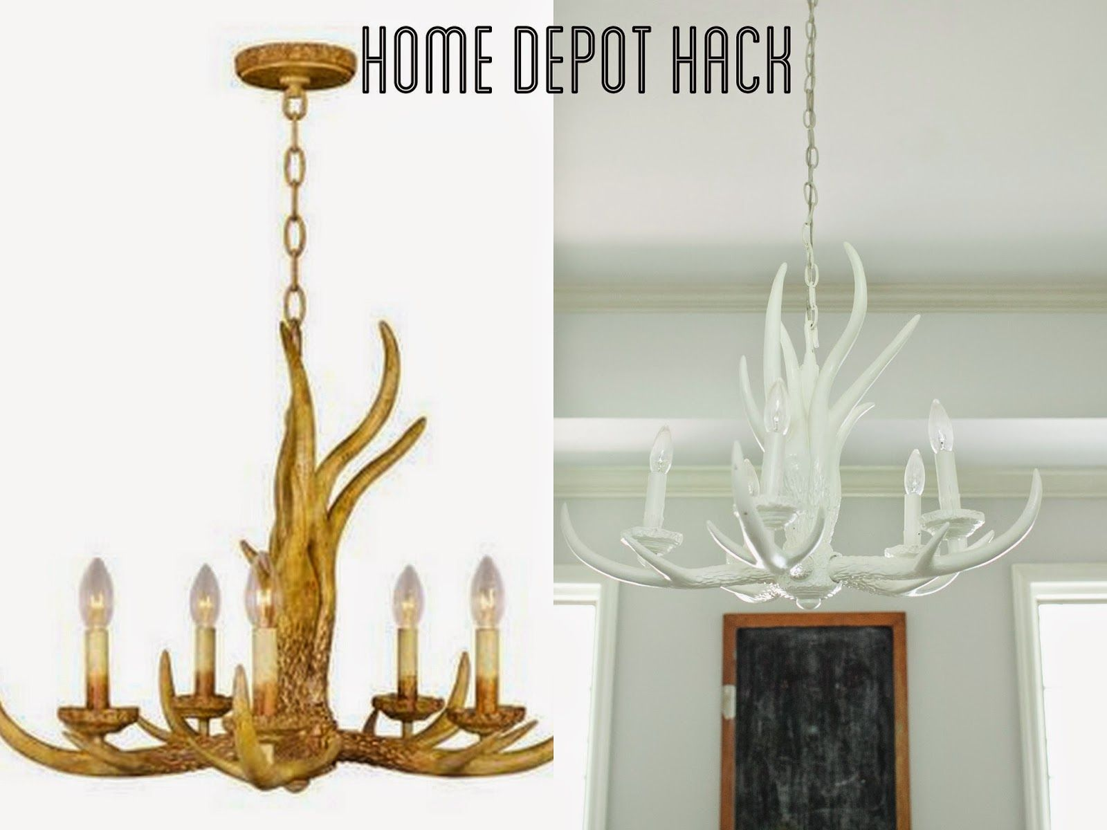from the nato s home depot antler chandelier hack on home depot paint sales this week id=59945