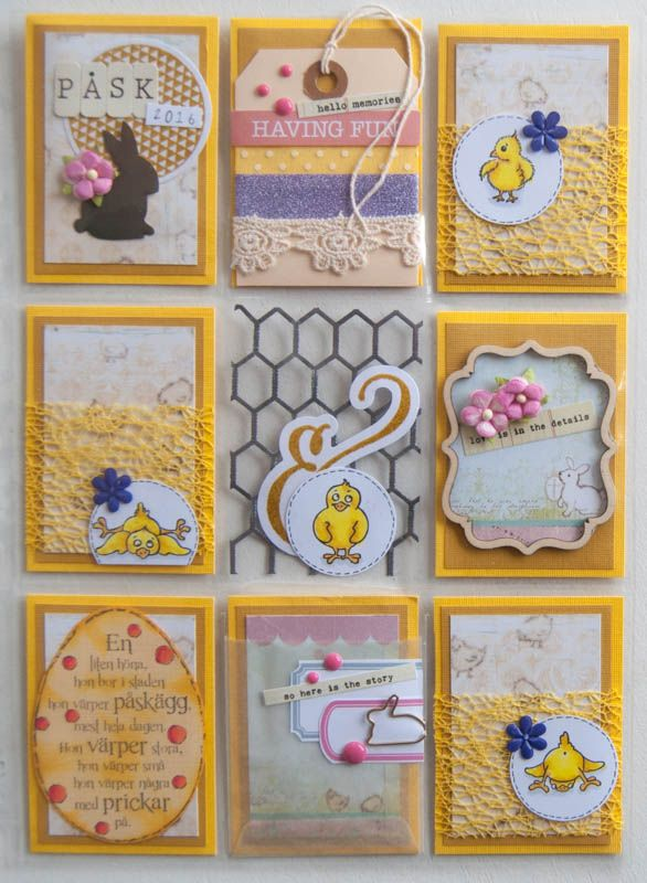Engströms Artstudio Wholesale Easter pocket letter by Hegu