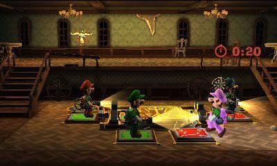 Luigi S Mansion Dark Moon 4 Players Luigi Dark Moon