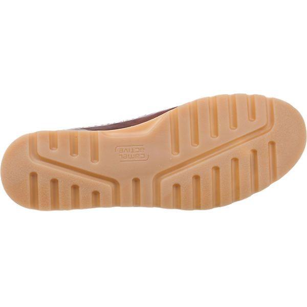 Die camel active Point 13 Freizeit Schuhe bestehen aus echtem Glattleder.  Die weiche 1a15e67e7f0