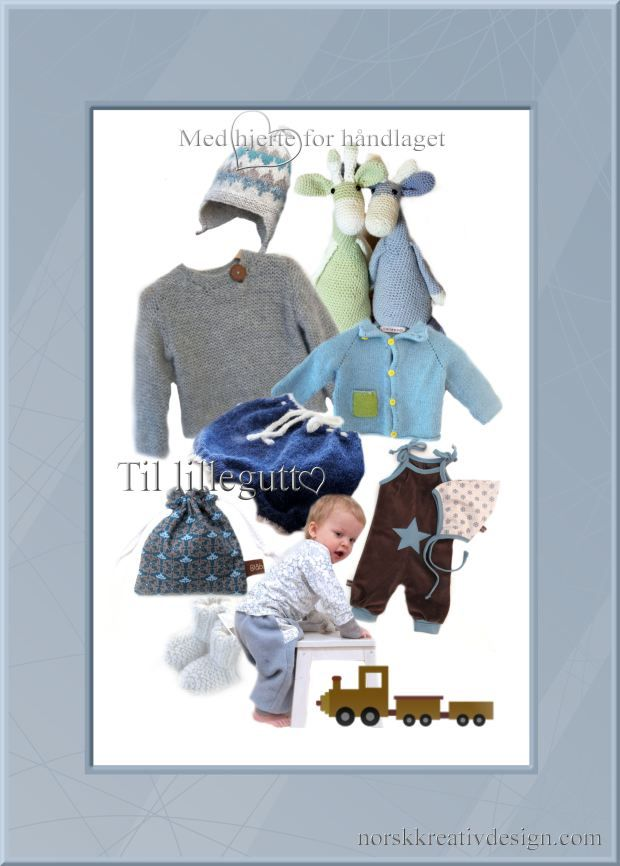 håndlagde barne klær til gutt