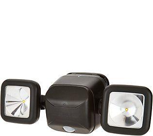 Mr Beams Dual Head Motion Sensor Security SpotLight