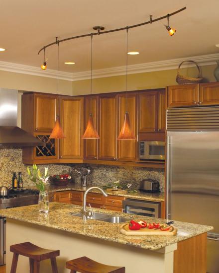 Kitchen, Surprising Pendant Track Lighting Flexible Design For Lighting In  Brighter Design In Bright Creamed Design Inside Of Indoor Ideas: Design For  Track ...