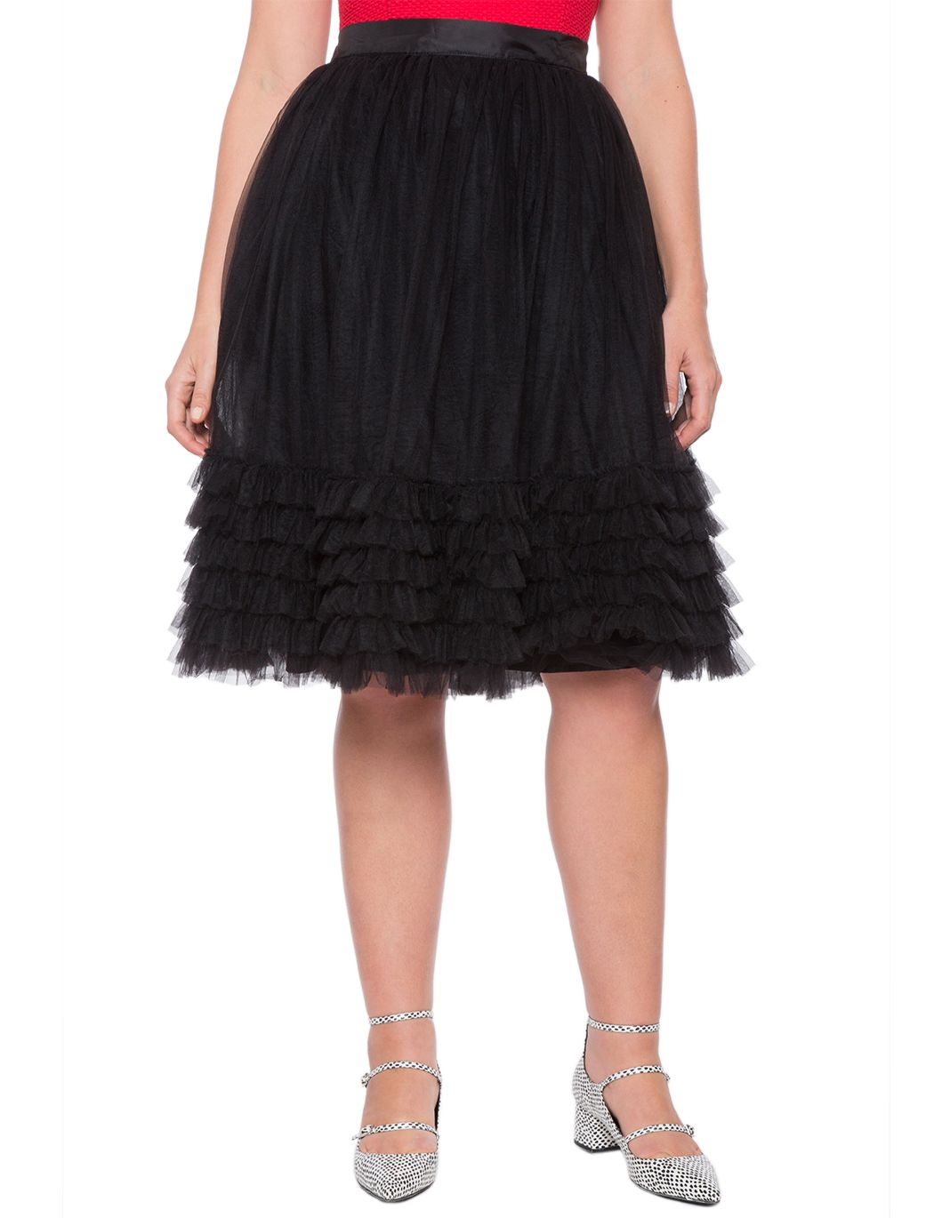 65db3f2c7a9 Layered Tulle Skirt