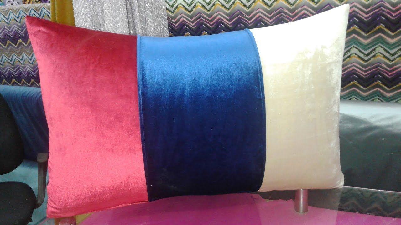 جديد طريقة خياطة مخدات بارشوا بالقطيع بالكوردون الصالون المغربي 2017 Throw Pillows Pillows Sewist