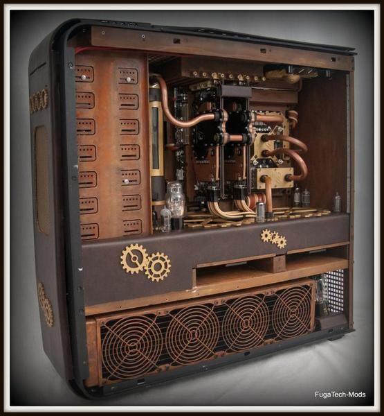 19 Steampunked Tj11 By Shane Fuga Custom Computer Case