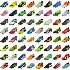 Love all these cleats
