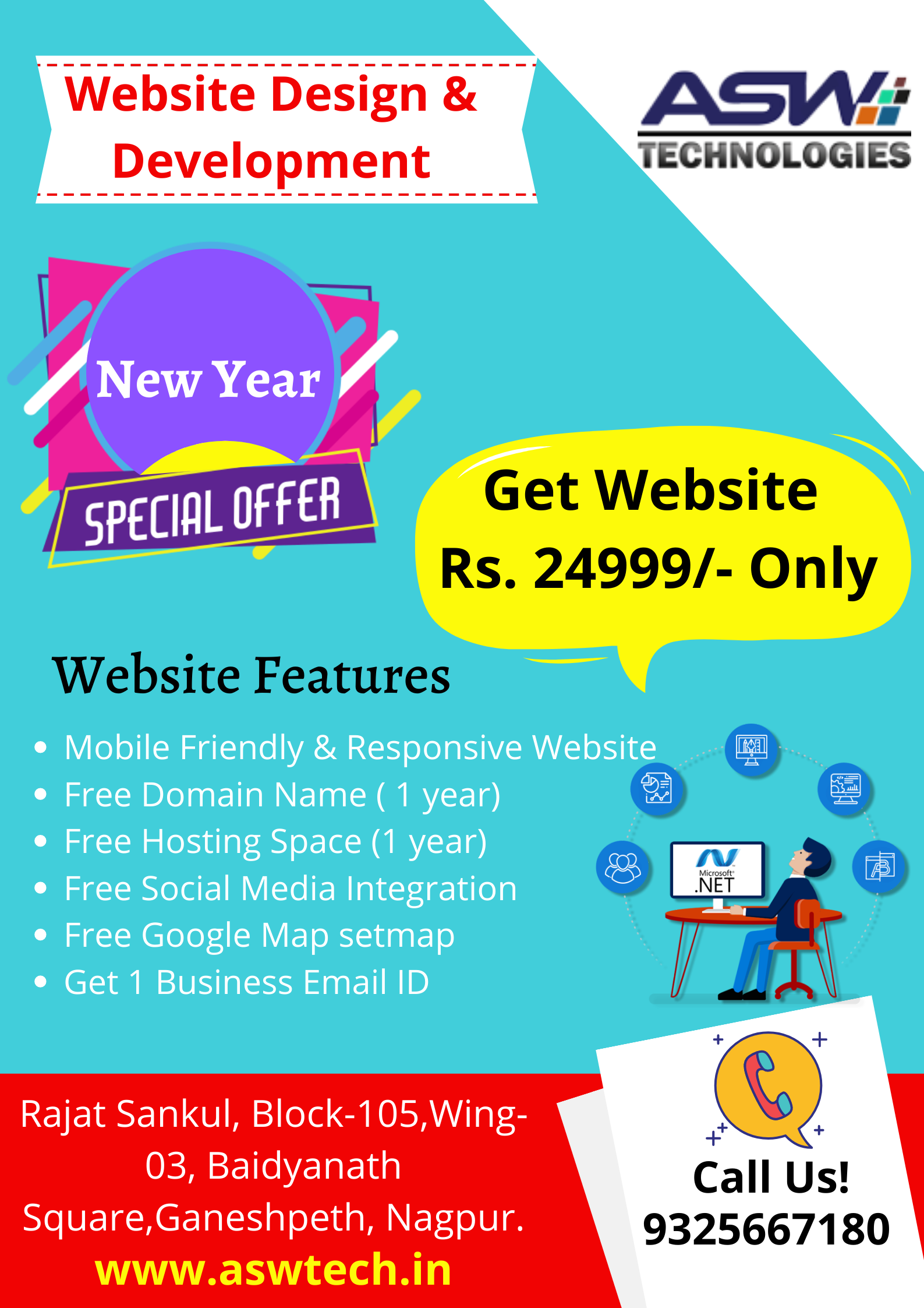 New Year Offer For Website Design And Development... The