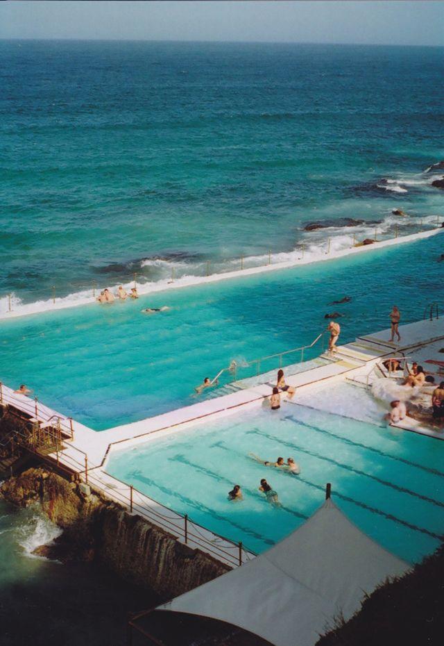 Natural swimming pool - sea.