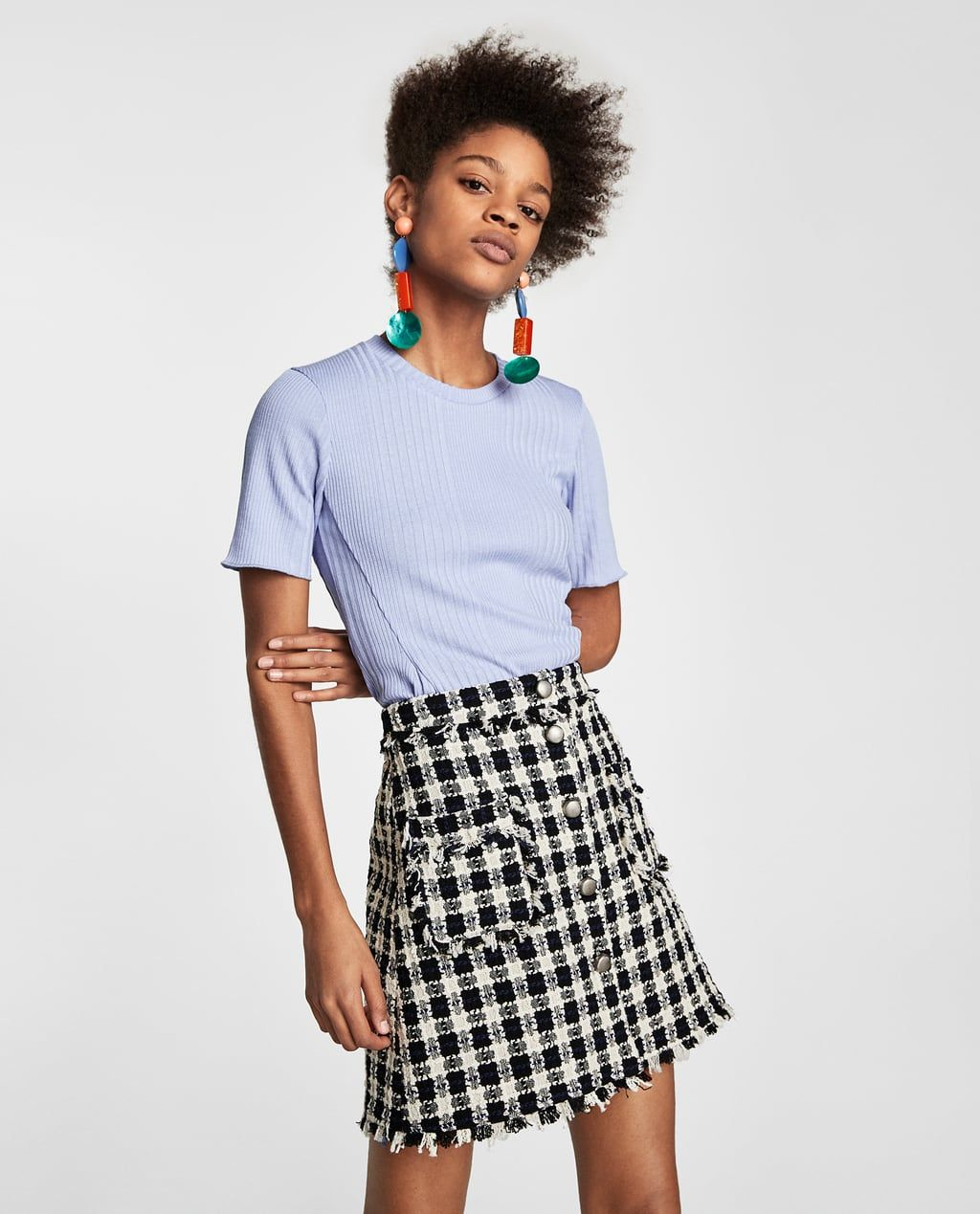 6857f82dc Women's Skirts | New Collection Online | ZARA United States | Mood ...