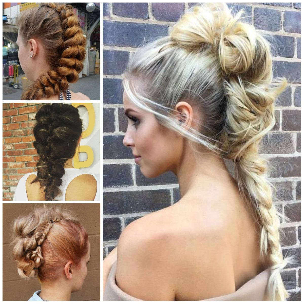 Updo Mohawk Hairstyles 2017 Braided Mohawk Hairstyles Haircuts And