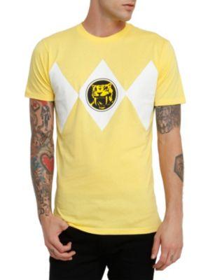 Herren Yellow Ranger Premium Slim Fit T Shirt Power Rangers