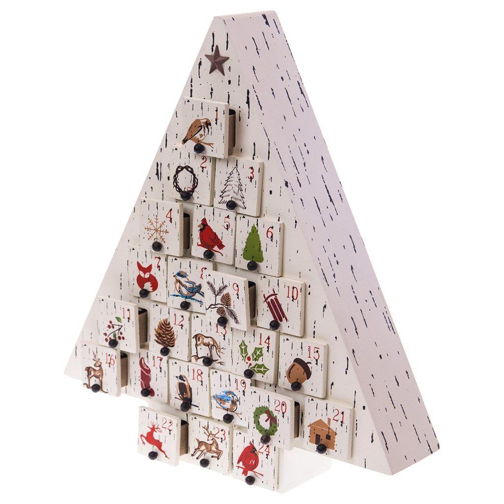 Tree Advent Calendar | Woodland Christmas | Cracker Barrel Old ...