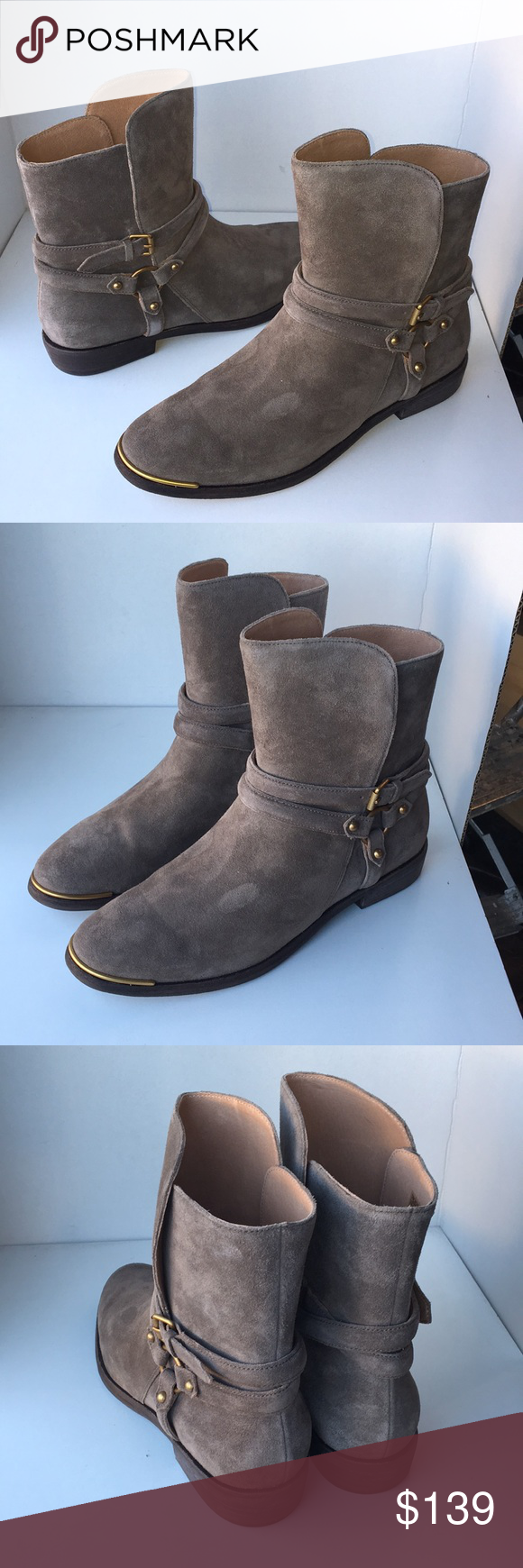a51b13e08a3 ❤️New Ugg Kelby Ankle Bootie Boots color Mouse 10 NWT in 2019 | My ...