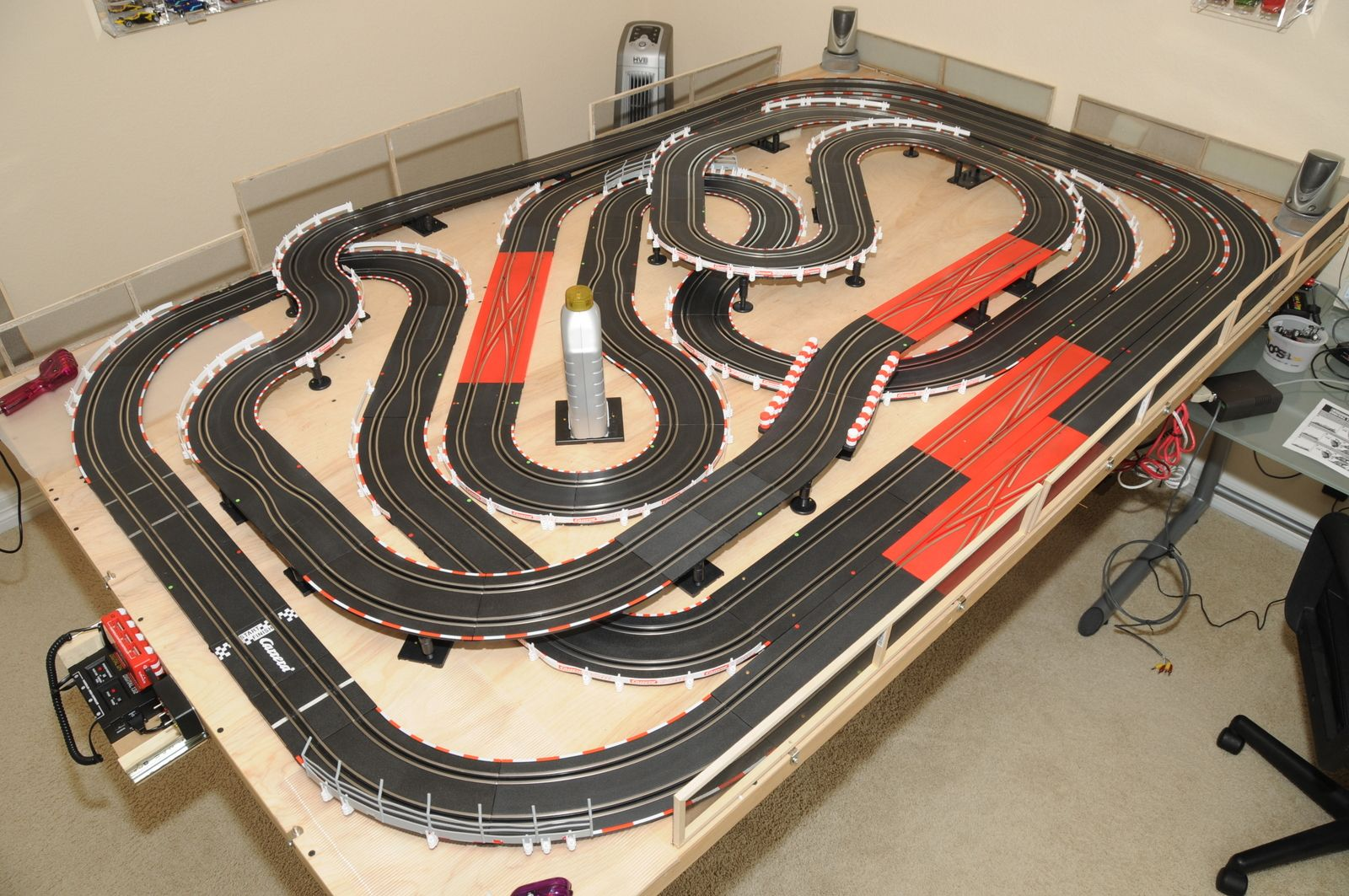 carrera slot car track layouts google search my guys
