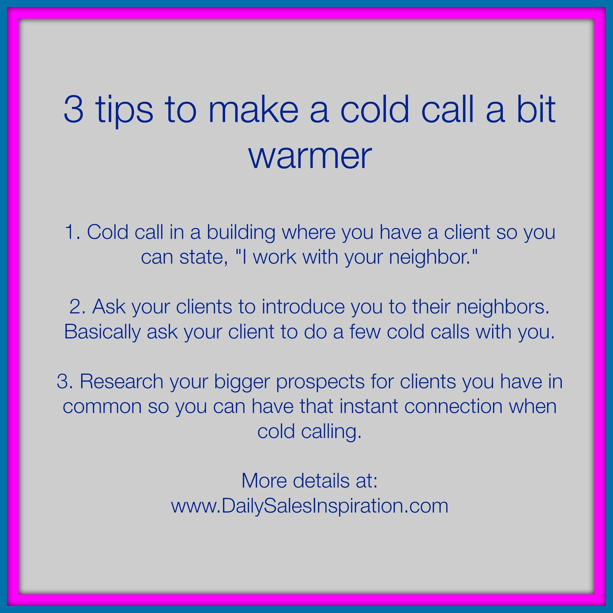 Free Resume Cold Calling Tips For Jobs