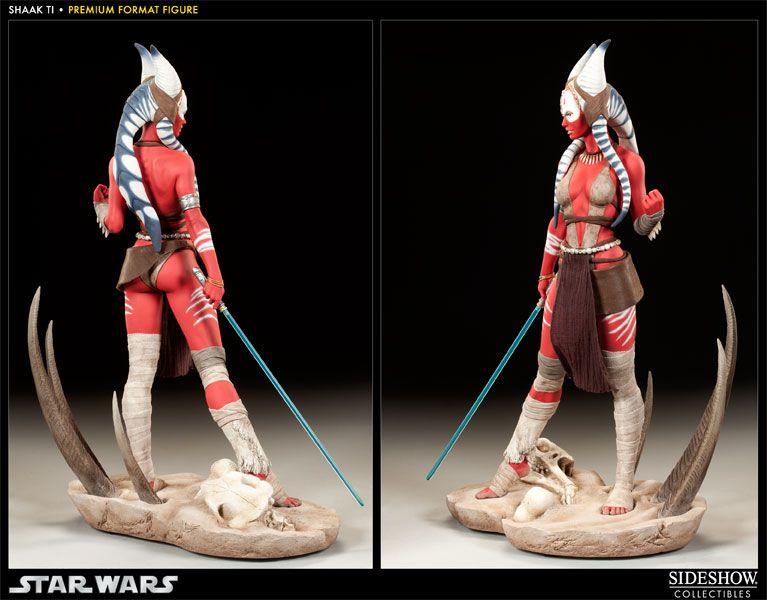 Shaak Ti - Star Wars Premium Format Statue - Sideshow C