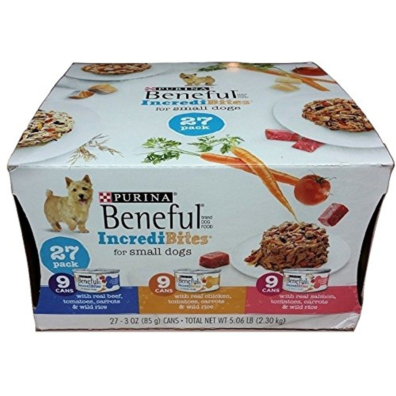 Purina Beneful Incredibites Variety Pack Dog Food 27 3 Oz Cans