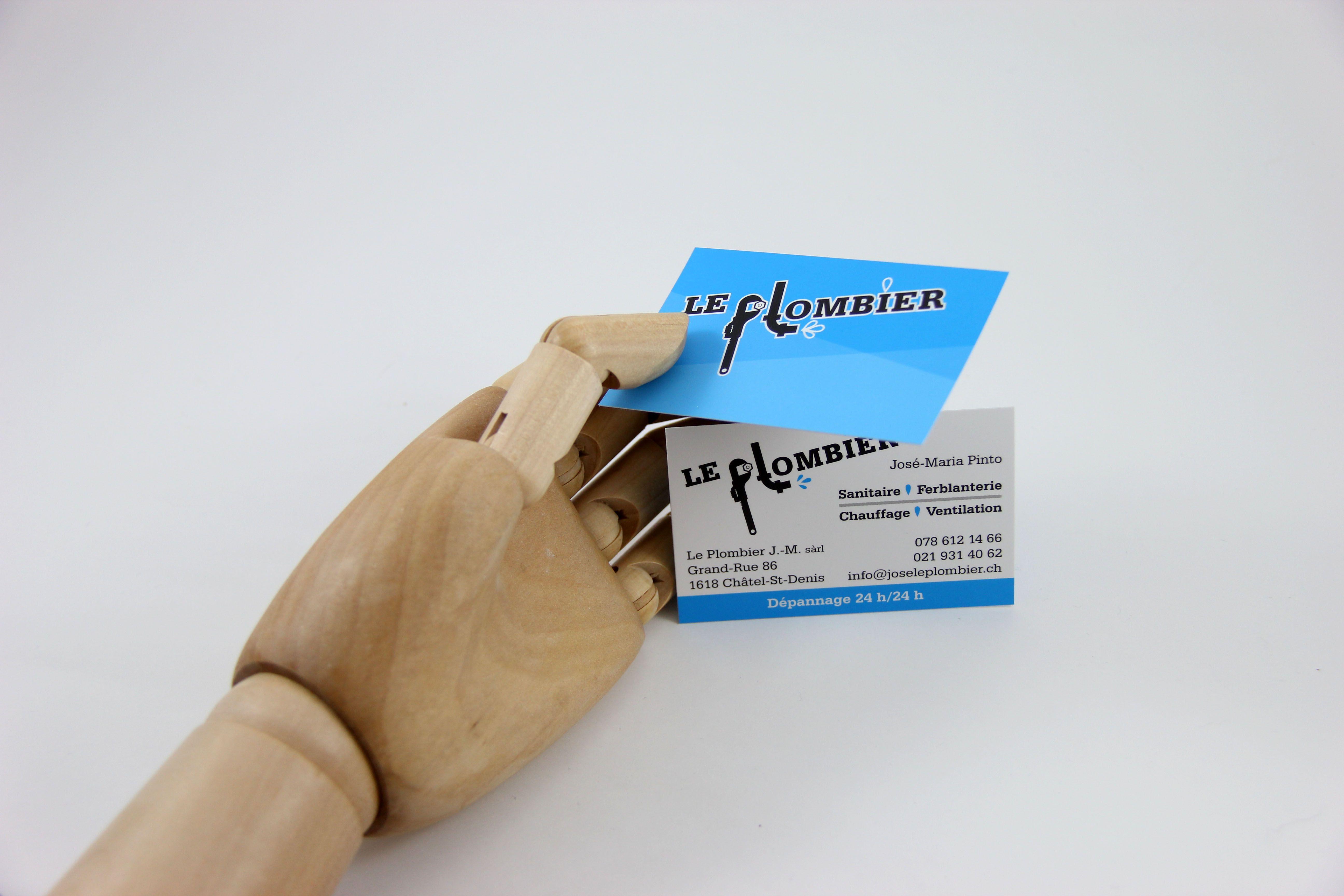 Le Plombier Plombier Carte De Visite Et Sanitaire