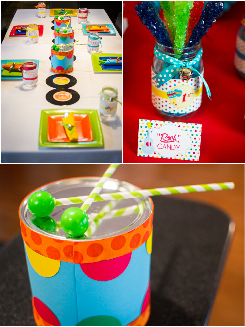 Music Themed Party Decorations Ideas Part - 29: Music Theme Birthday Jam Party Ideas With DIY Decorations, Printables, Food  And Favors!