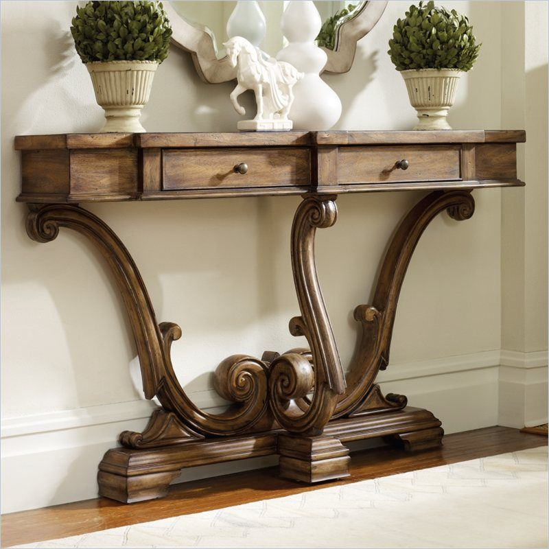 Marvelous Hooker Furniture Sanctuary Thin Console In Amber Sands