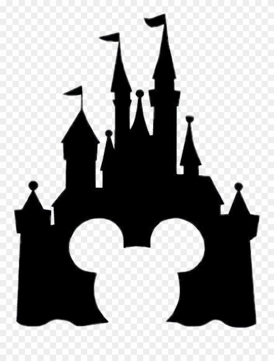 Download Hd Disney Sticker Disney Castle Silhouette Clipart And Use The Free Clipart For Your C Disney Castle Silhouette Disney Sticker Disney Silhouette Art